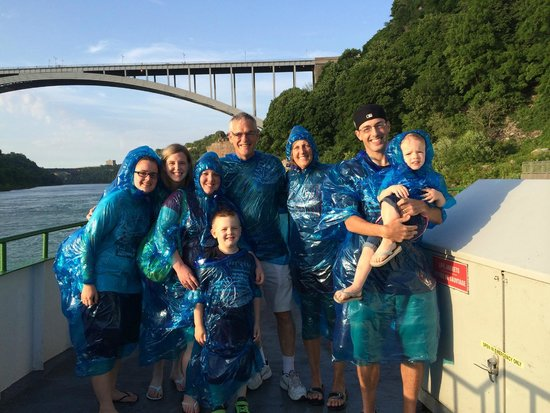 Maid of the Mist: The family