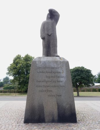Image result for Knud Rasmussen statue