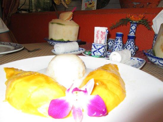Sawasdee: Mango Sticky Rice
