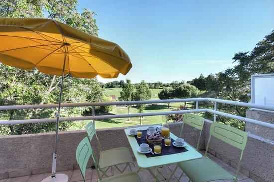 Golf de Montpellier-Massane : Balcon d'un appartement