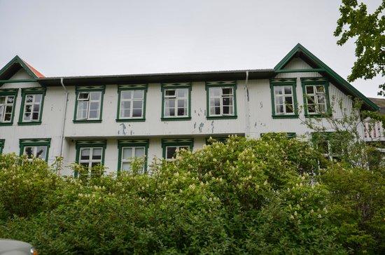 Seydisfjordur Hostel Hafaldan: the town center building