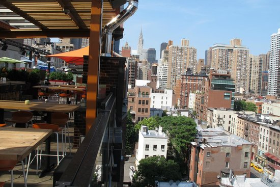 Park South Hotel : Roof top bar