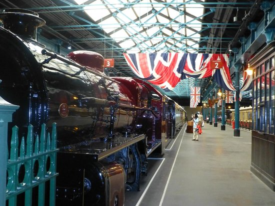 National Railway Museum: One Of The Platforms In The Museum