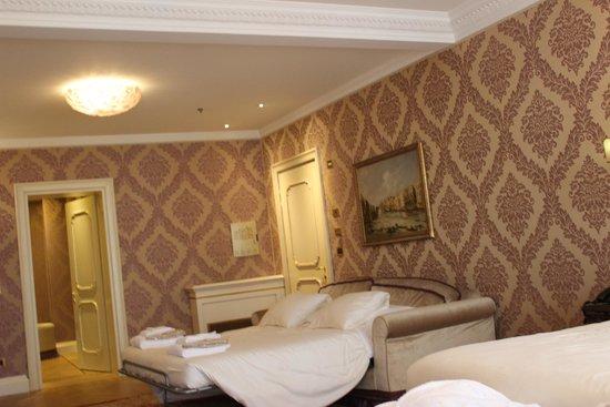 Hotel Ai Reali di Venezia: Our fabulous room