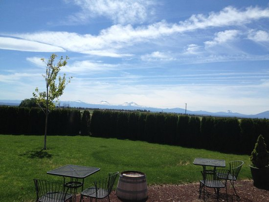 The Well Traveled Fork: The view from Maragas Winery.