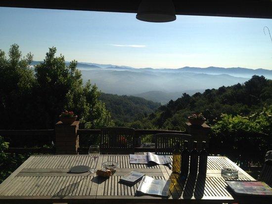 Agriturismo Piaggione di Serravalle: dawn