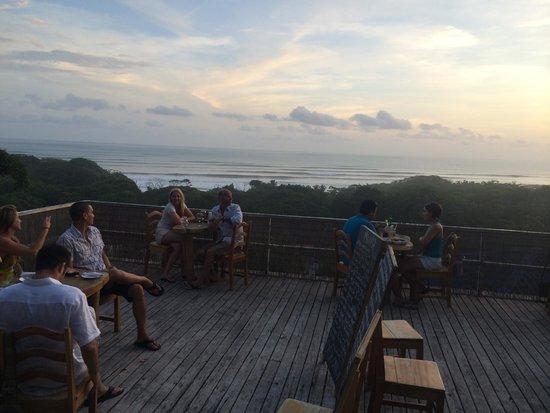 Brisas Del Mar : View from restaurant deck