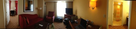 Residence Inn Alexandria Old Town/Duke Street: Panoramic view of room