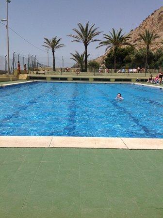 Hotel Albahia: Rustig zwembad