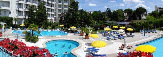 Hotel Ariston Molino Terme: l'ensemble des piscines