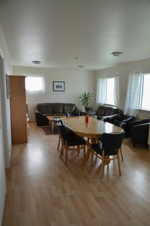 Hali Country Hotel : Living/dining area in our building