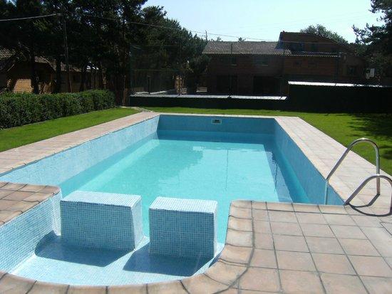 El xalet de Prades: piscina