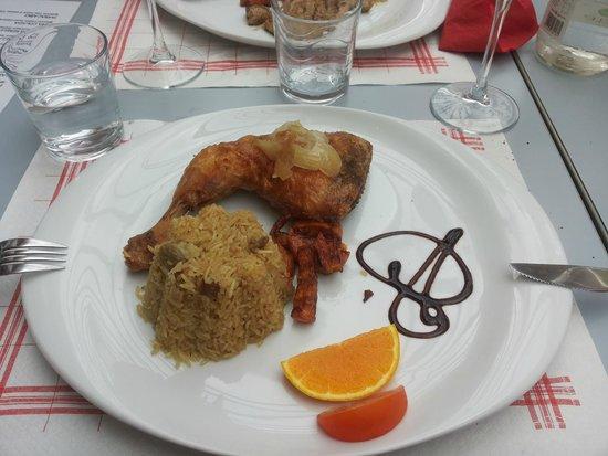 La Negra Tomasa: Pollo fritto