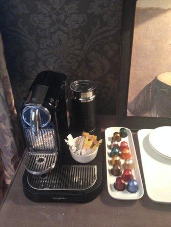 Saltgate House: Free Coffee machine