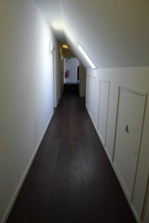 Walwyck Hotel Brugge: Hallway, top floor
