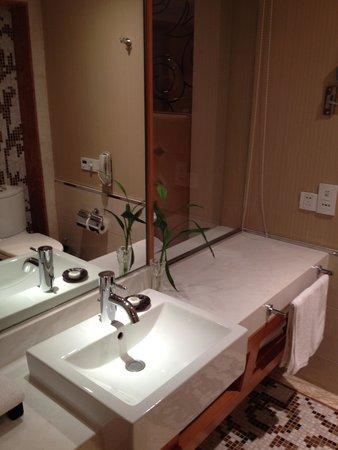 Jinling Jiangnan Hotel Changzhou : 洗面は清潔です