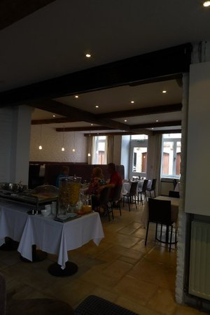 Walwyck Hotel Brugge: Breakfast room
