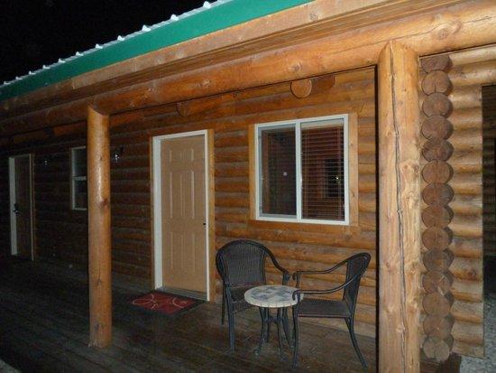Cody Cowboy Village: The cabin in the dark