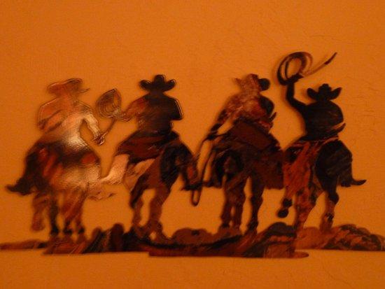 Cody Cowboy Village: cowfolk art