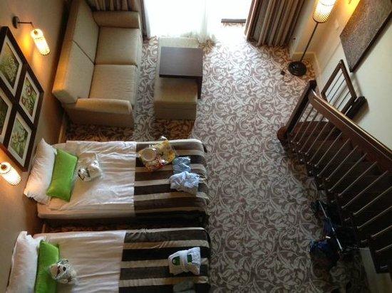 Ela Quality Resort Belek: View downstairs