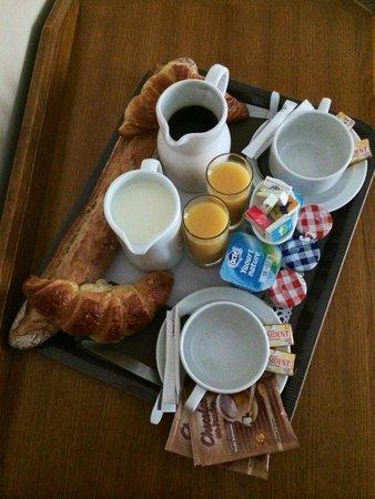 Nadaud Hôtel : Petit-déjeuner parfait