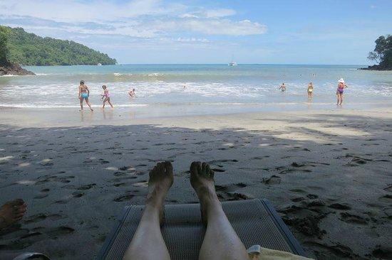 Tulemar Bungalows & Villas: Tulemar private beach