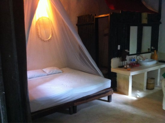 Om Tulum Hotel Cabanas and Beach Club: Chambre 1