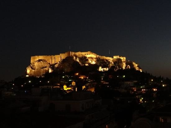 Electra Palace Athens: Dinner with a view