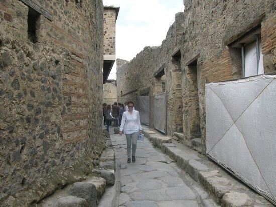 Tours Pompei: Street leading to brothel