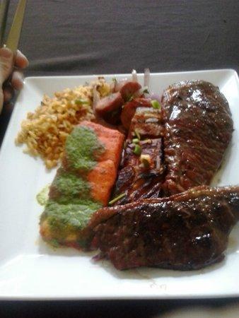 Samauma: Almoço