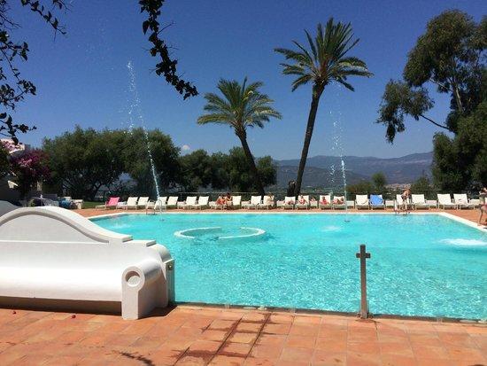 Arbatax Park Resort - Cottage: la piscine extérieur du spa