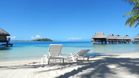 Maitai Polynesia Bora Bora: Playa del hotel