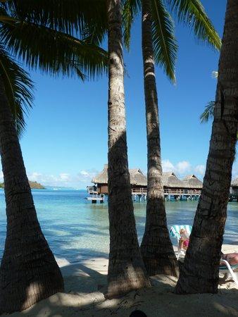 Maitai Polynesia Bora Bora: Our bungalow at the end.