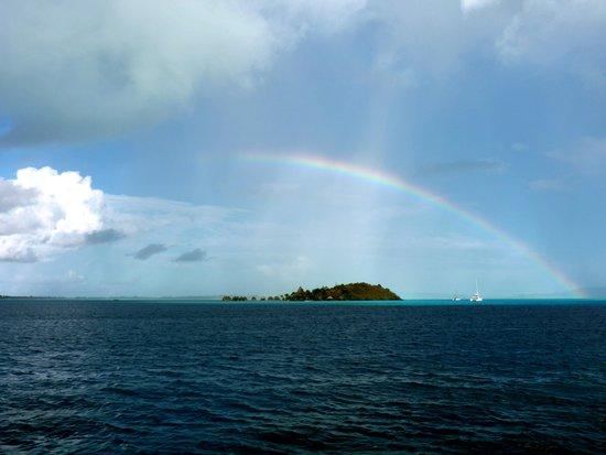 Maitai Polynesia Bora Bora: view from the balcony