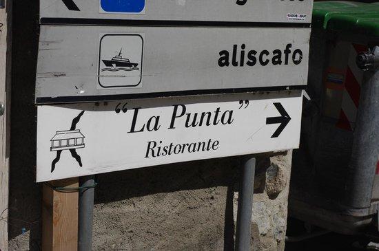 Ristorante La Punta : En Route