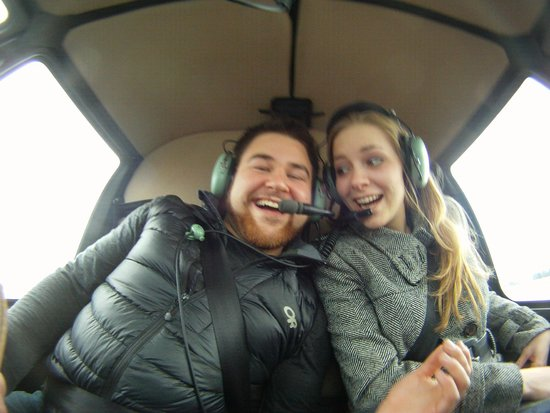 SKY Helicopters Inc.: Newly Engaged couple