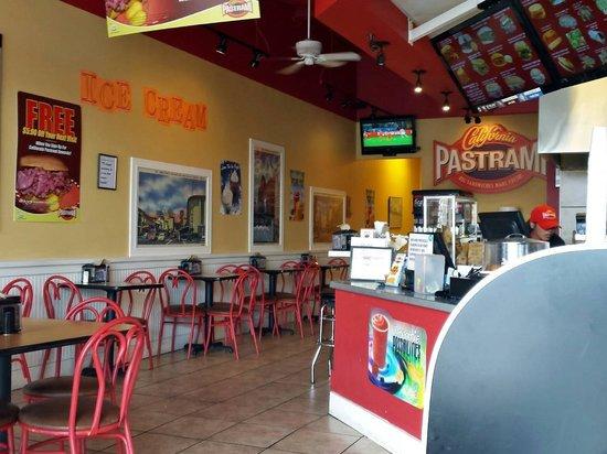 Inside California Pastrami