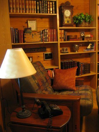 Frannie's Cabins : library
