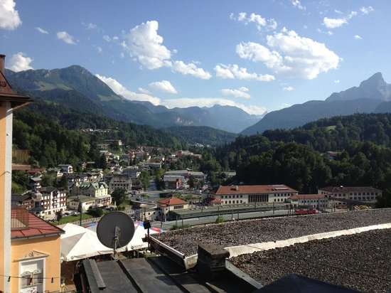 Hotel Wittelsbach: View from the balcony