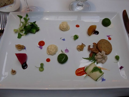 Le Saint-Amour : vegetable assortment