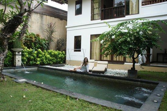 Dampati Villas: privat pool