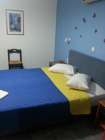 Villa Stella : Das Bett
