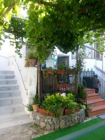 Casa San Michele: Un angolo esterno