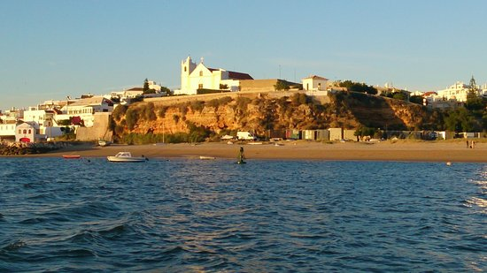 Praia Grande: view of beqch from sea