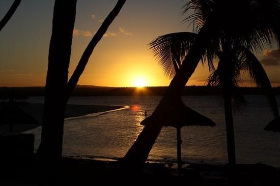 One&Only Le Saint Géran : sun set
