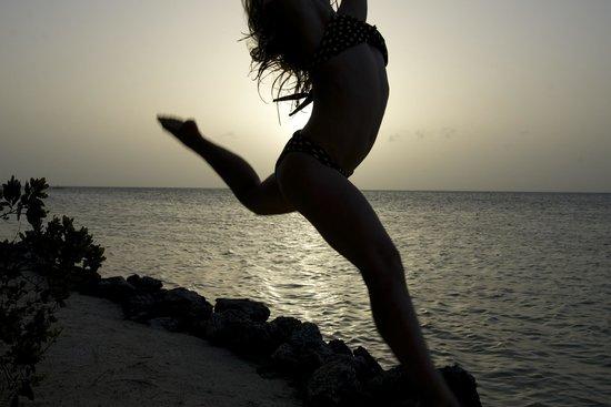Cayo Espanto : On the Beach