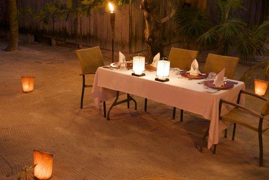 Cayo Espanto: Dinner