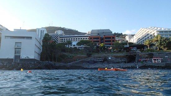 Enotel Lido Madeira: вид с океана