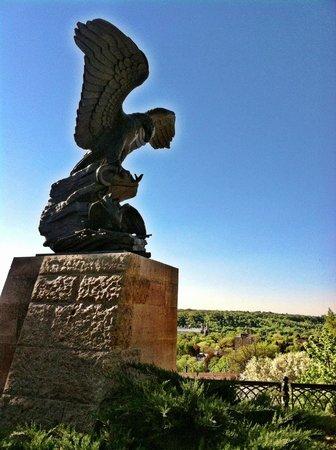 Summit Avenue: Sculpture Near Overlook of St Paul