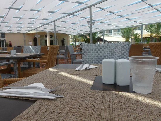Sandy Beach Resort: Quiet lunch in the Olive Tree